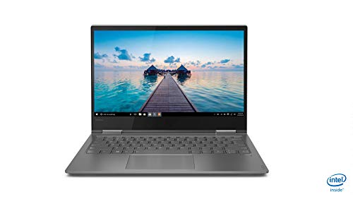 Lenovo Yoga 730 Hybrid-Laptop mit Full-HD-Touch-Bildschirm (Intel Core i7-8550U, 8 GB RAM, 512 GB SSD, Intel UHD Graphics 620, Windows 10 Home), Grau, spanische QWERTY-Tastatur 15,6