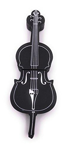 H-customs chiavetta usb violoncello per basso violino nero usb flash drive da 8 gb 16 gb 32 gb usb 2.0/32 gb