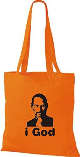 ShirtInStyle Stoffbeutel I LOVE HALLE Deine Stadt diverse Farbe orange