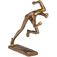 Escultura de atletismo Runner antiguo figura de bronce de estilo moderno trofeo