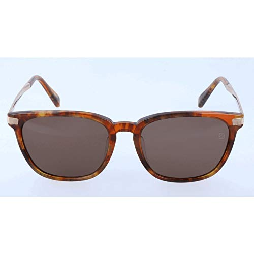 Ermenegildo zegna sonnenbrille ez0039-f occhiali da sole, arancione (orange), 55.0 uomo