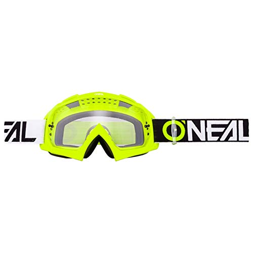 O'neal B10 Twoface Goggle Goggle MX DH Brille gelb/klar Oneal