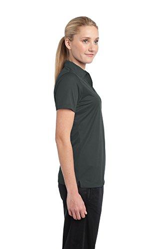 Sport-Tek -  Polo  -  Vestito modellante  - Donna grigio ferro
