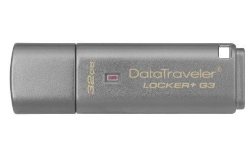 Kingston DataTraveler - Memoria USB de 32 GB, plateado