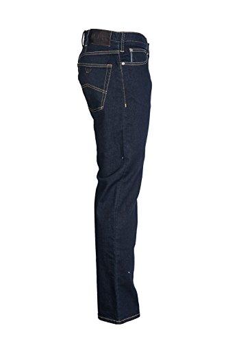 Armani Jeans Regelmäßige locker spülen waschen Jeans Indigoblau Indigoblau