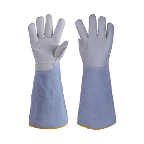 Zfgg guanti resistenti alle basse temperature, antigelo, azoto liquido, ghiaccio secco, celle frigorifere, distributore di benzina, guanti protettivi da lavoro (size : 45 * 14cm)