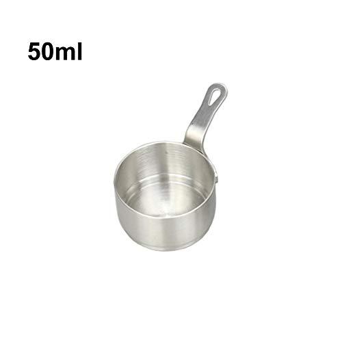 Edelstahl Dipschälchen Sauce Tassen, würze Server, Kochwerkzeug mit Sauce Tasse für Tisch servieren Essen Präsentation Küche verwenden (Servieren Würze)