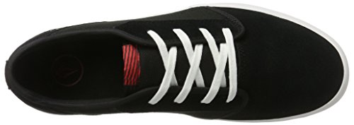 Volcom Grimm 2 Herren Skate-Schuh Blau, Scarpe da Skateboard Uomo Schwarz (Black Top)