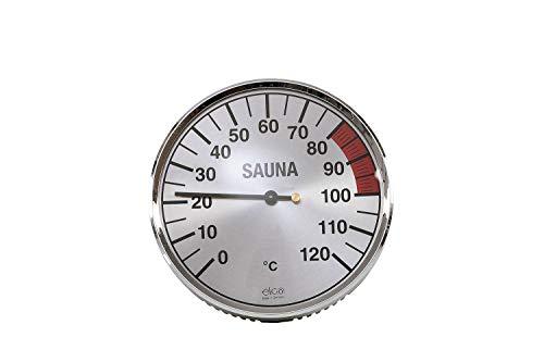 eliga Thermometer silberfarben 135 mm