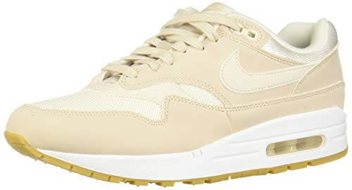 Nike Damen WMNS Air Max 1 Sneakers, Mehrfarbig (Desert Sand/Phantom/Gum Light Brown 001), 39 EU