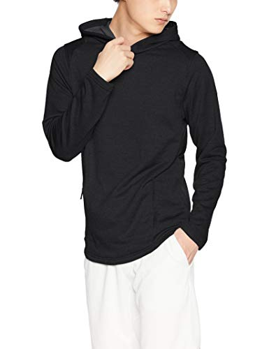 Under Armour Herren Tech Terry Popover Hoodie Oberteil, Black, XL Terry Hoodie Sweatshirt