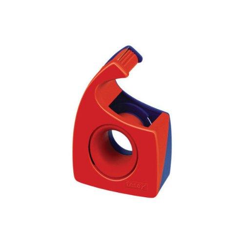 Tesa 57443-00001-00 Tesafilm, Abroller, rot/blau