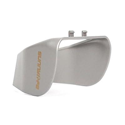 Sun Shade Lens Hood Glare Gimbal Camera Protector Cover for DJI Mavic Pro Series By UPXIANG