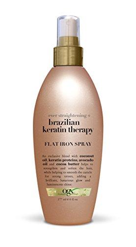 Organix Brasilianische Keratin Behandlung Gätteisen Spray 177 ml (Thermal Spray Protect)