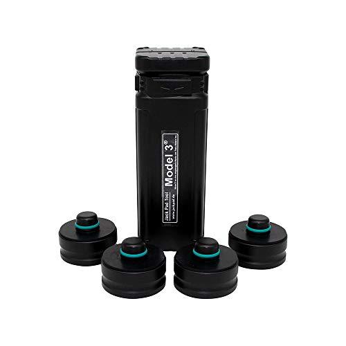 werkzeugbude24 Original jackpad® Wagenheber Adapter passend für Tesla Model 3 - (4 Stück in a Box) - !!! Kein Gummiadapter !!!