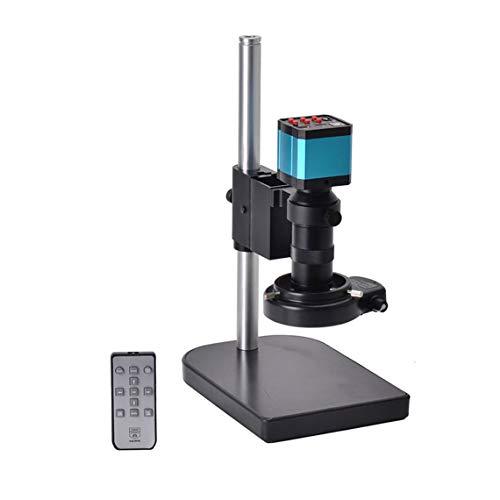 Professionelle Set 14MP CMOS HDMI Mikroskop Kamera TF Karte Videorecorder Für Industrie Labor Telefon Reparatur schwarz