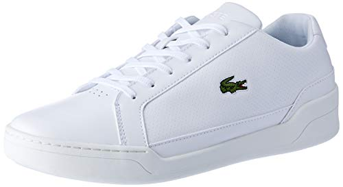 Lacoste Herren Challenge 119 2 SMA Sneaker, Weiß Wht 21g, 44.5 EU