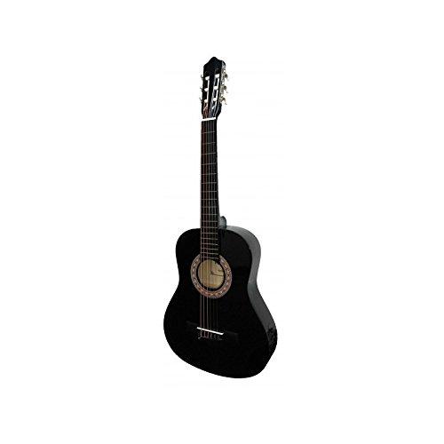 Guitarra rocio c6n (1/4) cadete 75 cms negro
