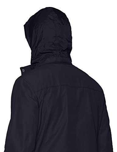 Geox Man Jacket, Manteau Homme Bleu(Dark Navy)