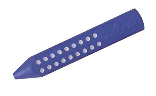 Faber-Castell 187101 - Dreieckradierer Grip 2001, rot/blau