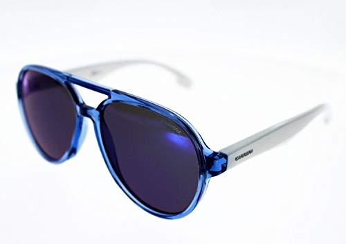 Carrera Sonnenbrille Carrerino 22, Blau, Junior oder kleines Gesicht, Unisex, Index 3, blinkende Gläser