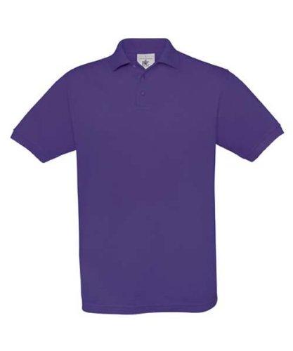 Piqué Poloshirt 'Safran' Purple