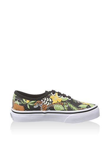 Vans T AUTHENTIC blk Sneaker, Unisex Bambino Nero (Noir/Multicolor)