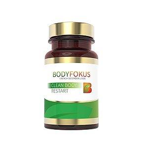 BodyFokus Clean Body Restart - Gesund, Fit & Vital durch eine natürliche Entgiftung der Leber - 1 Dose
