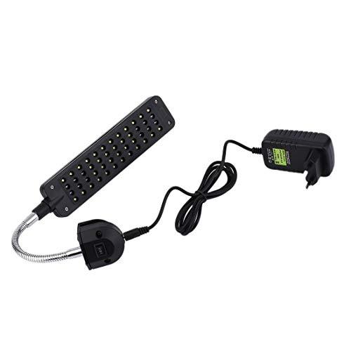 Formulaone 48 LED DC 15 V 3 Watt 2 Modus Kunststoff Aquarium Fisch Lichtanlage Wachsen Clip-on Lampe Einstellbare Arm Energiesparlicht