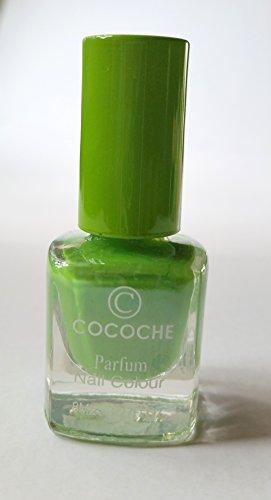 NEW Nail Art cocoche Parfum Vert avec vernis à ongles green tea/Thé vert arôme parfum Nail Colour