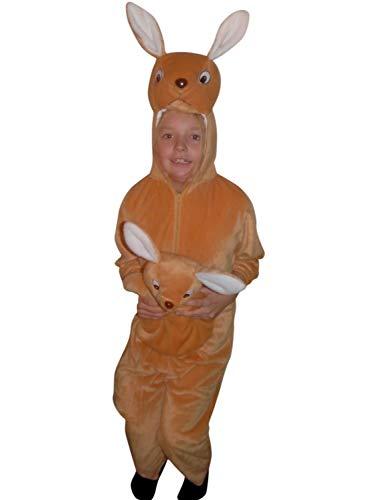 Baby Känguru Tragen Kostüm - PUS Känguru-s Kostüm-e F29 Gr. 110-116, Kat. 1, Achtung: B-Ware Artikel. Bitte Artikelmerkmale lesen! Tier-e Kind-er Mädchen Junge-n Kleinkind-er Faschings- Karnevals- Geburtstags- Geschenk-e
