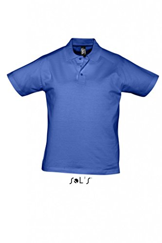 Men Polo Shirt Prescott Royal Blue