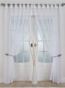 woven-voile-tab-top-panel-buy-one-panel-get-one-free-finished-in-white-58-wide-x-72-drop