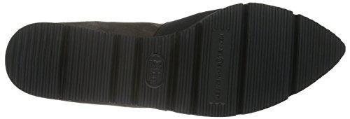 Kennel und Schmenger Schuhmanufaktur Pia X Damen Geschlossene Ballerinas Grau (smoke/black Sohle schwarz 699)