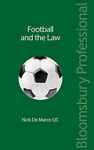 Football and the Law por Nicholas, QC Randall