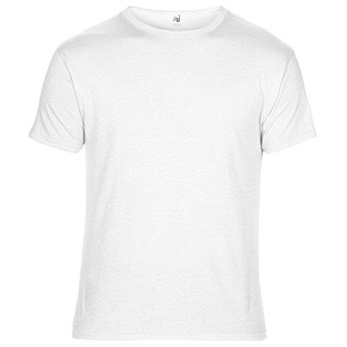 Anvil Unisex T-Shirt, Kurzarm, besonders leicht (M) (Weiß) -