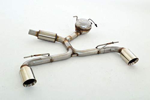 Friedrich Motorsport 63,5mm Duplex-Endschalldämpfer mit Soundgenerator - Material: Edelstahl - mit Teilegutachten - Nr. SBESE51ASD-x - Streetbeast