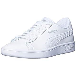 Puma Unisex-Erwachsene Smash V2 L Sneaker, Weiß (Puma White-Puma White 7) , 37 EU