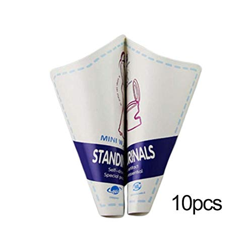 Coseyil Einweg Papier Urinal Frauen Wasserlassen Gerät Tragbare Outdoor Weibliche Toilettenwerkzeug 10 Teile/los -