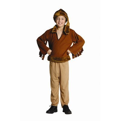RG Kost-me 90105-S Frontier Boy Kost-m - Gr--e Child-Small