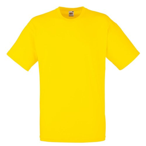 fruit-of-the-loom-tee-valueweight-jaune-2xl
