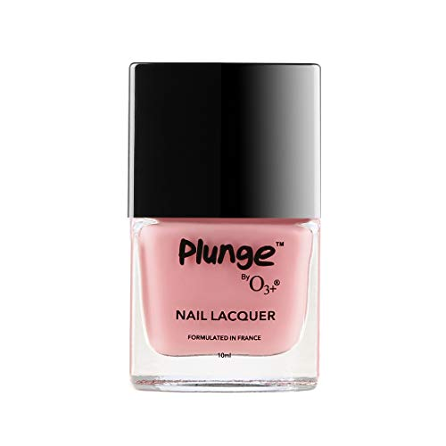 O3+ Plunge Nail Paint Polish Lacquer Colour (10 ML, Peach)