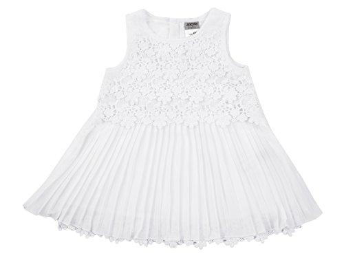 Jacky Taufkleid Festkleid Ivory Hochzeit Plisseekleid (80)