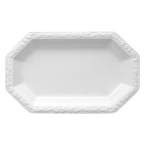 Rosenthal 10430-800001-12733 Maria Platte 33 x 20 cm,weiß Weiße Platte