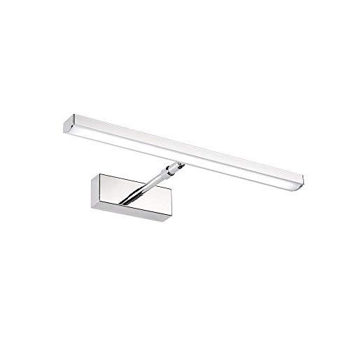LED Spiegelleuchte,9W IP66 230V LED Spiegellampe Badlampe 57cm länge Badbeleuchtung Schminklicht für Badezimmer(neutral-weiß)