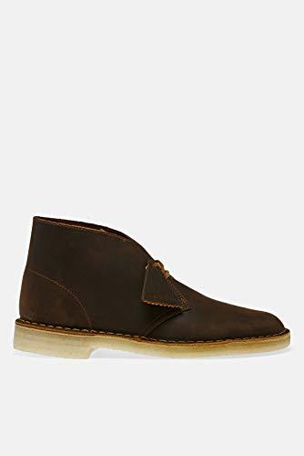 Clarks Originals Herren Desert Boots, Braun (Beeswax Leather), 47 EU