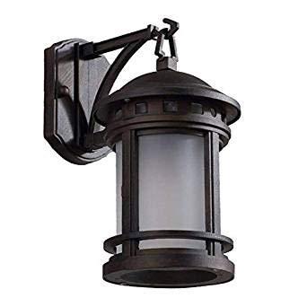 Skingk Vintage Außenwandleuchte Beleuchtung Antik Wasserdicht IP54 E27 Wandleuchte Nacht Straßenlaterne Außerhalb Garten Hof Gang Aluminium Wandlaterne -