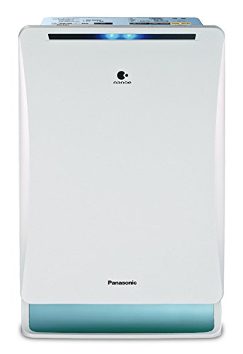 Panasonic F-VXM35AAD 10-Watt Air Purifier (White/Light Blue)