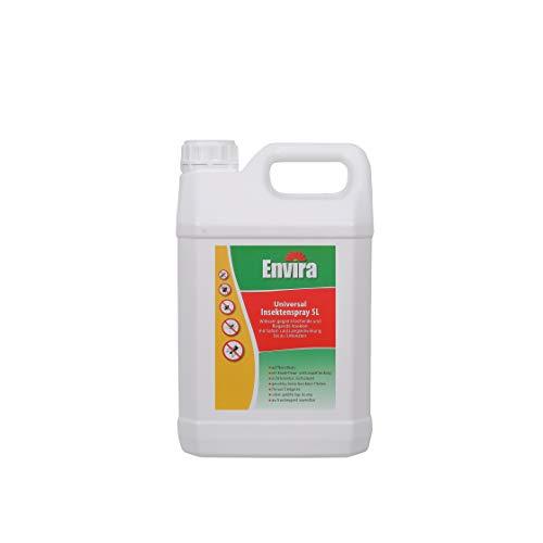 Envira Universal Insektenschutz I Hochwirksames Insekten-Spray Mit Langzeitschutz I Insektizid Auf Wasserbasis I 2 Liter