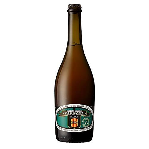 Bière Cap d'Ona - Blonde Bio sans Gluten 0.75L